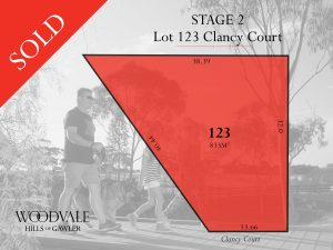 Stage 2 - Lot 123 SOLD