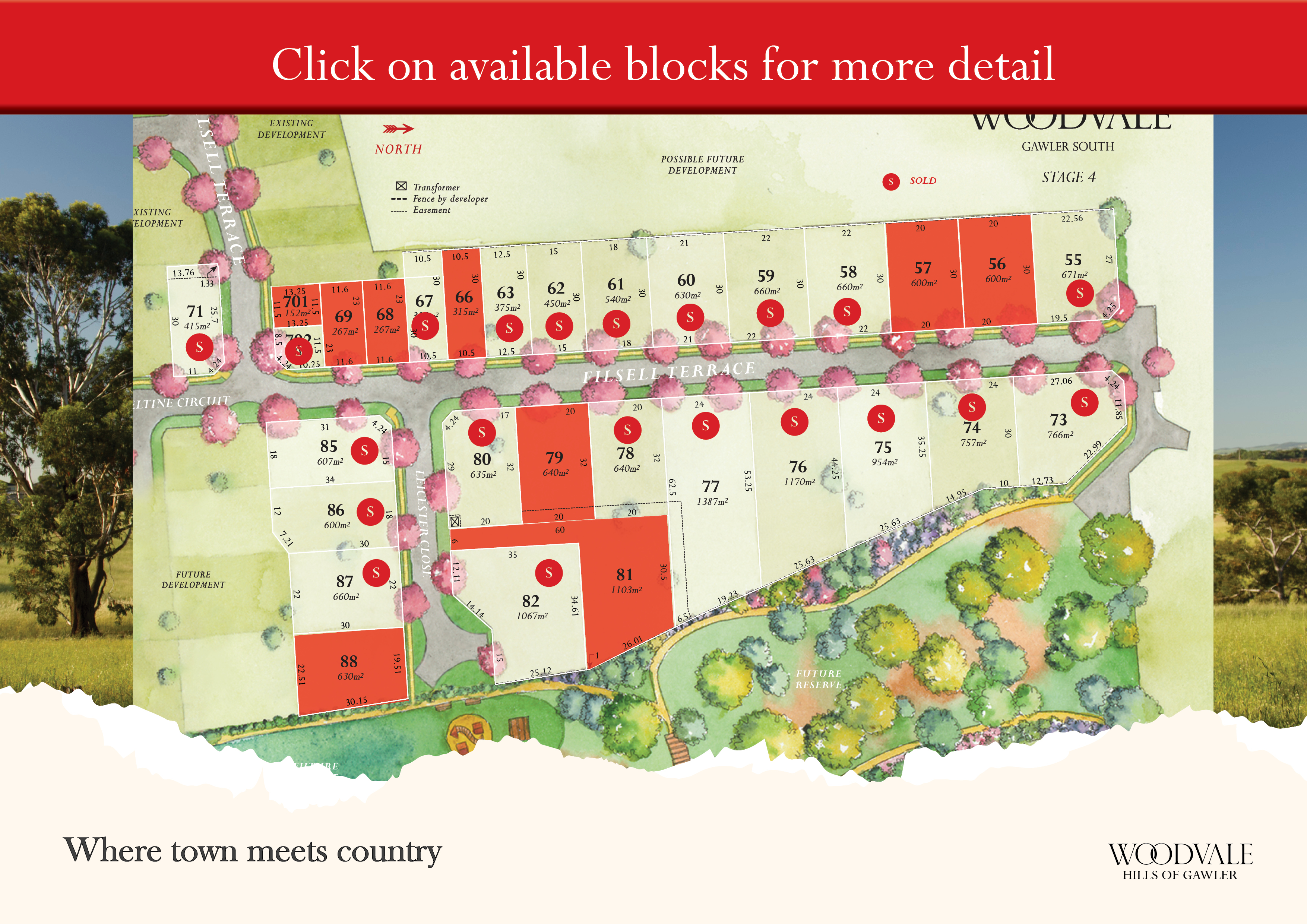 Land for sale at Gawler near Adelaide - Woodvale Stage 4