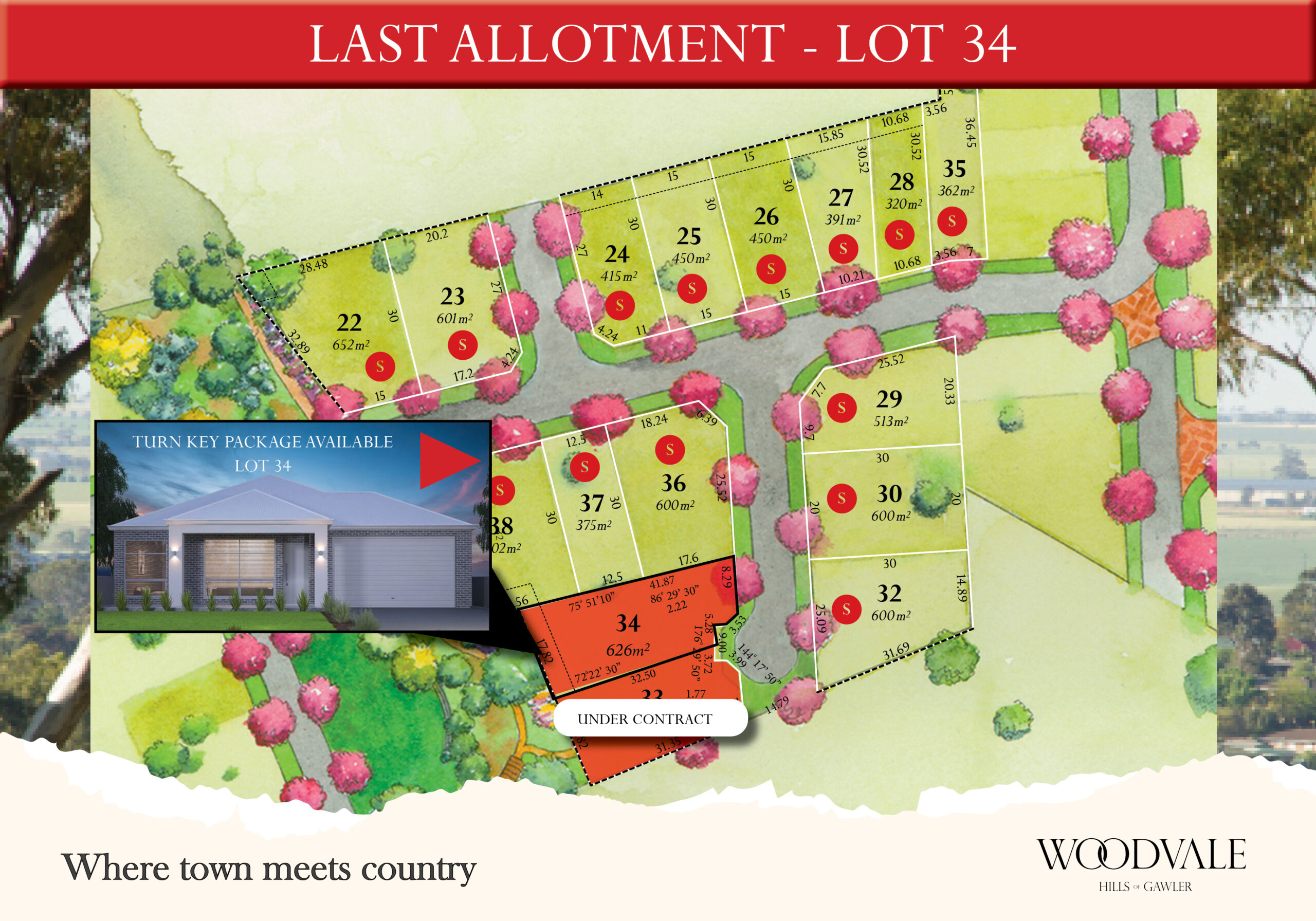 Land for sale at Gawler near Adelaide - Woodvale Stage 3